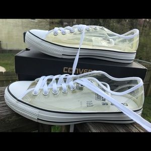 Brand new shoes sneaker converse clear for women